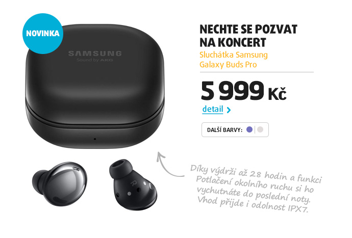Sluchátka Samsung Galaxy Buds Pro