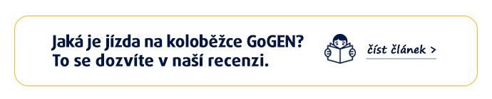 Jaká je jízda na koloběžce GoGEN? To se dozvíte v naší recenzi. Více zde >>