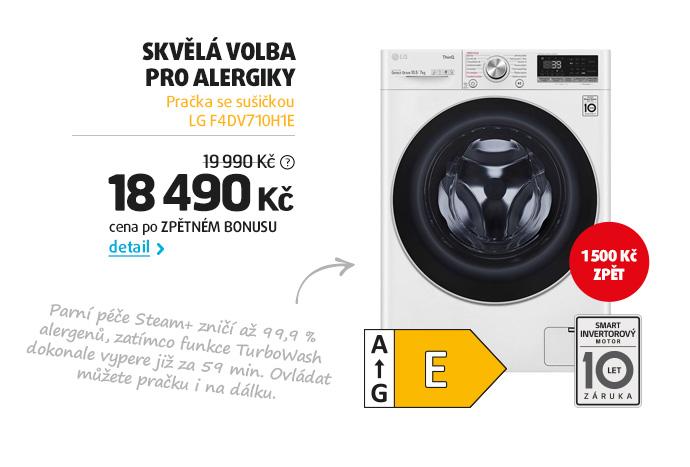 Pračka se sušičkou LG F4DV710H1E