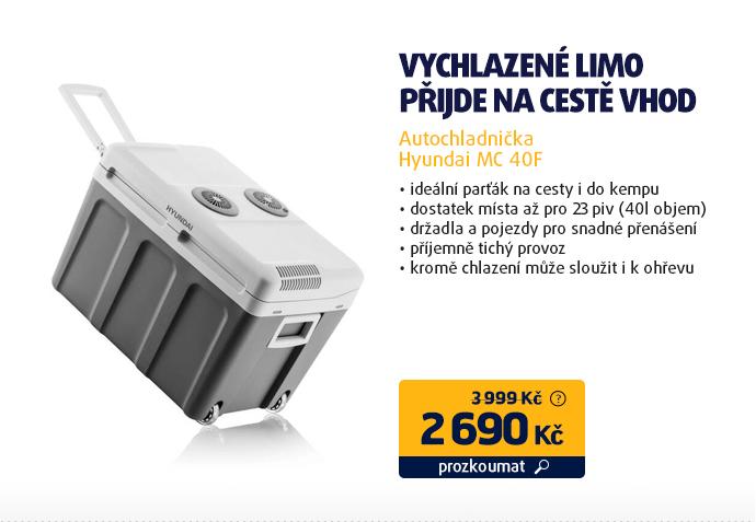 Autochladnička Hyundai MC 40F