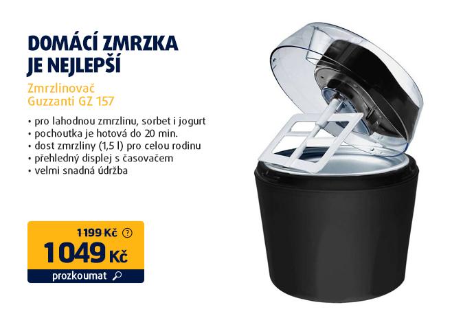 Zmrzlinovač Guzzanti GZ 157
