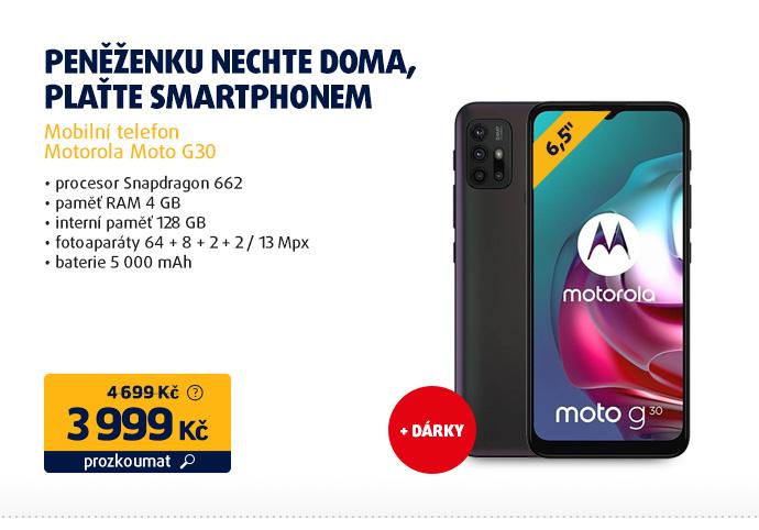 Mobilní telefon Motorola Moto G30
