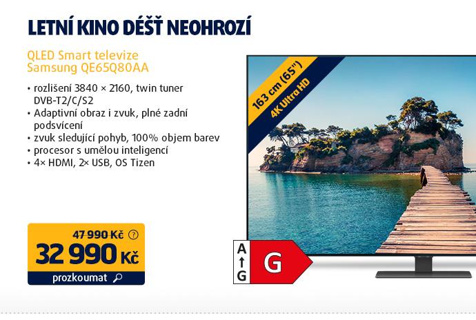 QLED Smart televize Samsung QE65Q80AA