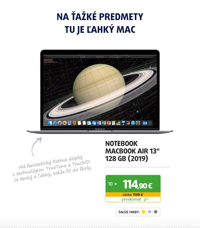 """MacBook Air 13"""" 128 GB (2019)"""