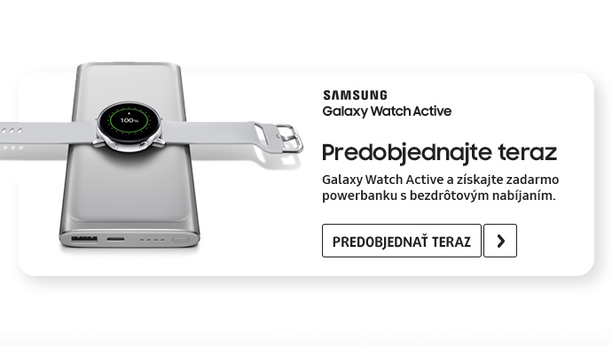Inteligentné hodinky Galaxy Watch Active