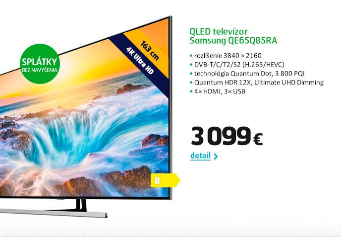 QLED televízor Samsung QE65Q85RA