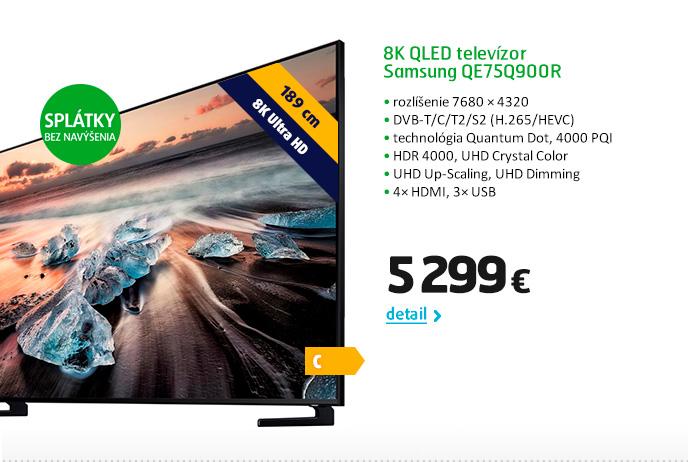 8K QLED televízor Samsung QE75Q900R