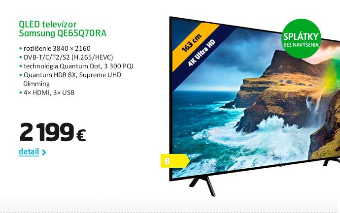 QLED televízor Samsung QE65Q70RA