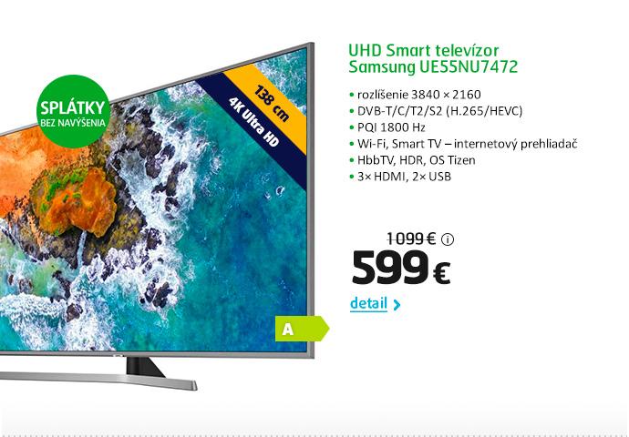 UHD Smart televízor Samsung UE55NU7472