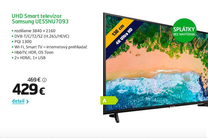 UHD Smart televízor Samsung UE55NU7093
