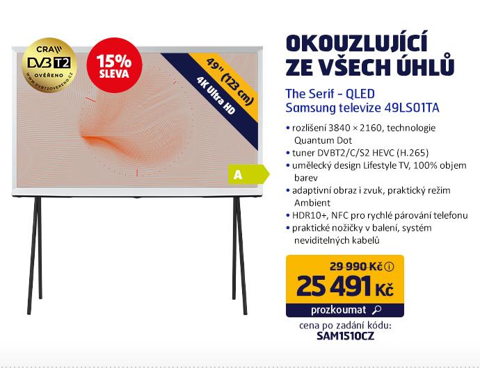 The Serif - QLED Samsung televize 49LS01TA