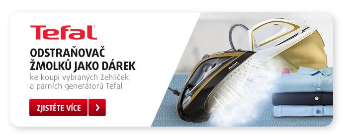 Kupte si vybrané parní generátory Tefal a těšte se na praktický dárek