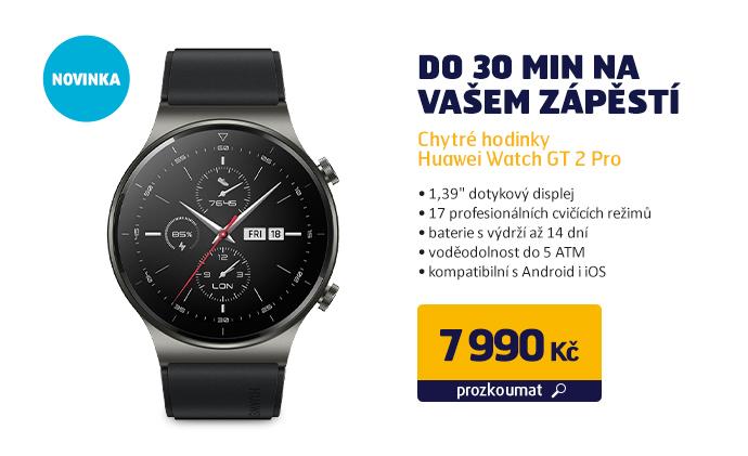 Chytré hodinky Huawei Watch GT 2 Pro