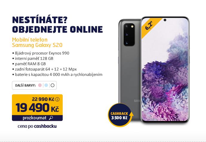 Mobilní telefon Samsung Galaxy S20