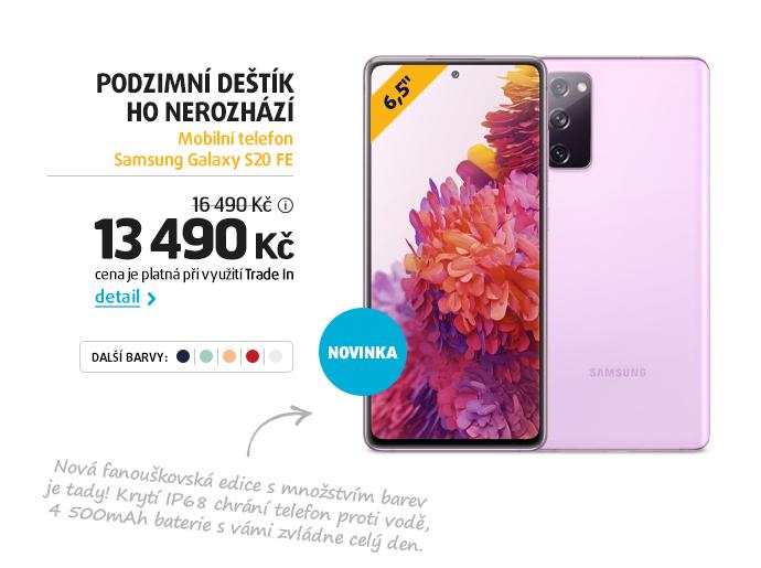 Mobilní telefon Samsung Galaxy S20 FE