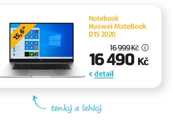 Notebook Huawei MateBook D15 2020