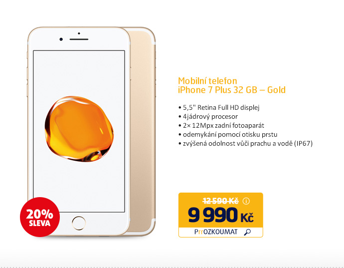 iPhone 7 Plus 32 GB – Gold
