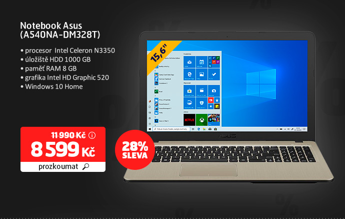 Notebook Asus (A540NA-DM328T)
