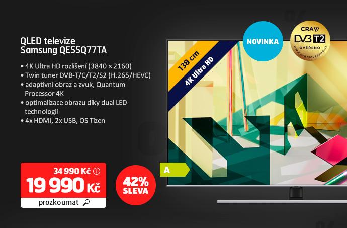 QLED televize Samsung QE55Q77TA
