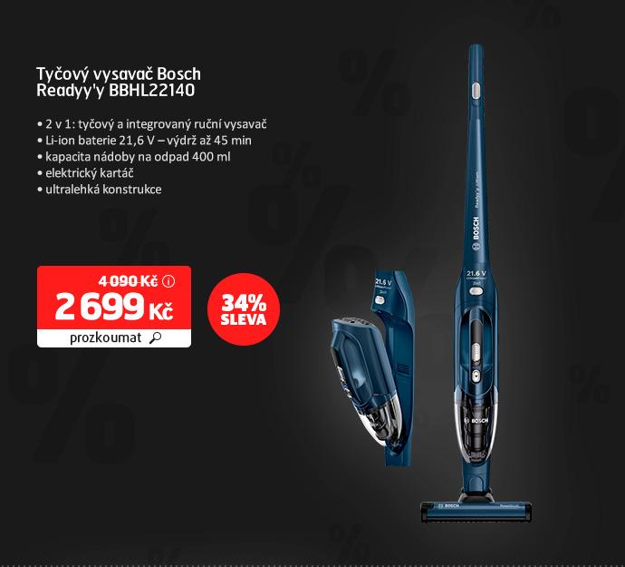 Tyčový vysavač Bosch Readyy'y BBHL22140