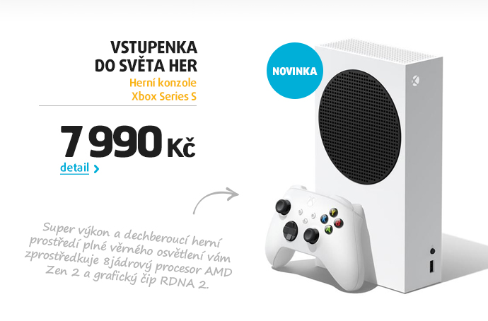 Herní konzole Xbox Series S
