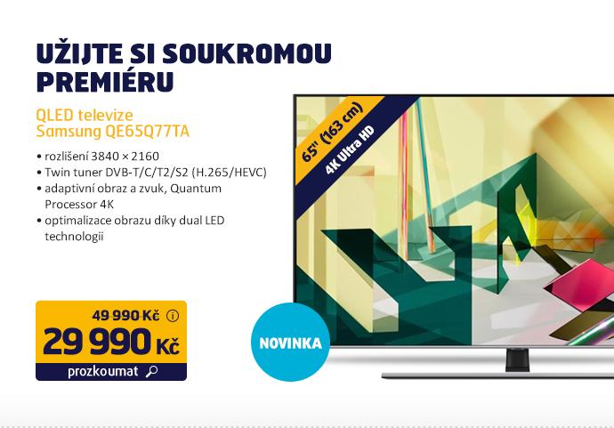 QLED televize Samsung QE65Q77TA
