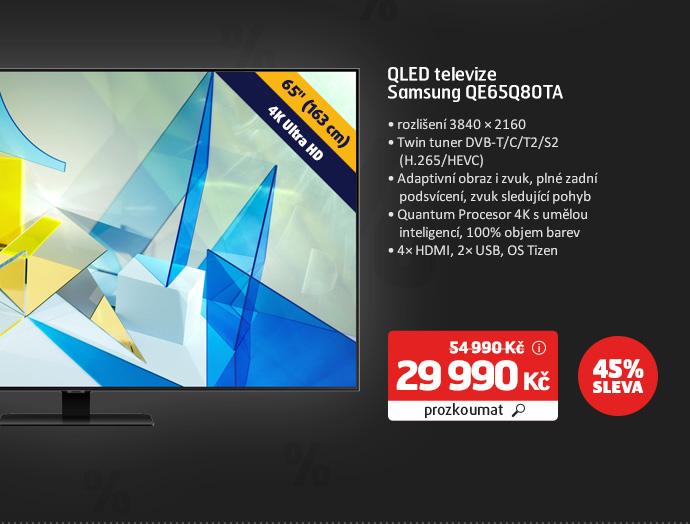 QLED televize Samsung QE65Q80TA