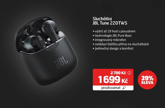 Sluchátka JBL Tune 220TWS