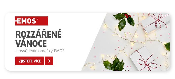 Rozzářené Vánoce s osvětlením značky EMOS