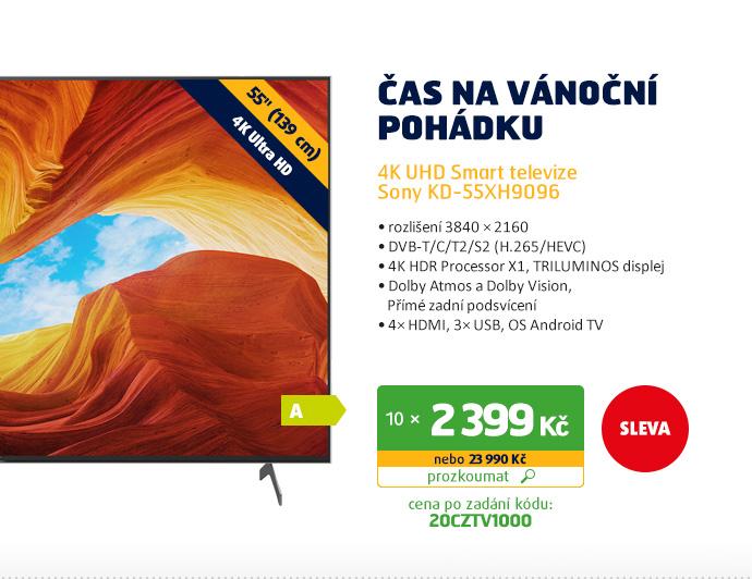 4K UHD Smart televize Sony KD-55XH9096