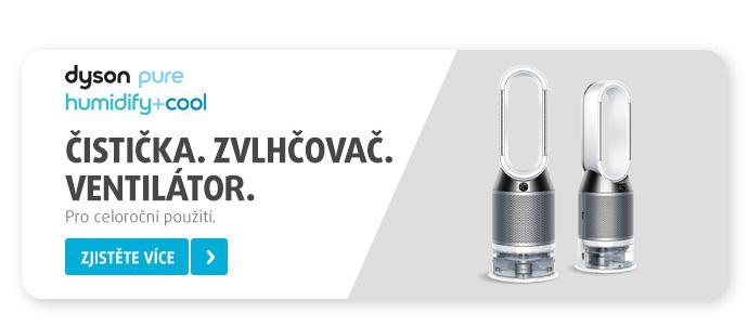 Čistička, zvlhčovač a ventilátor v jednom. To je Dyson Pure Humidify+Cool!