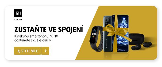K nákupu smartphonu Mi 10T dostanete skvělé dárky