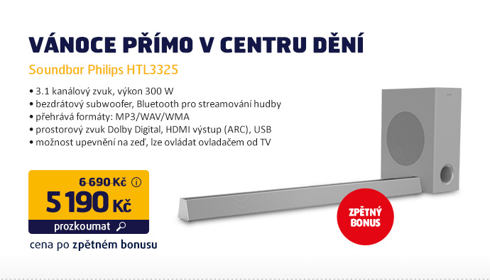 Soundbar Philips HTL3325
