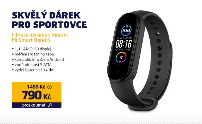 Fitness náramek Xiaomi Mi Smart Band 5