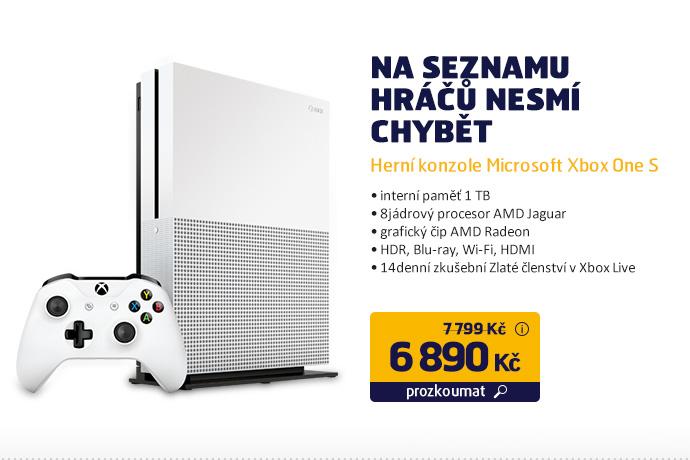 Herní konzole Microsoft Xbox One S