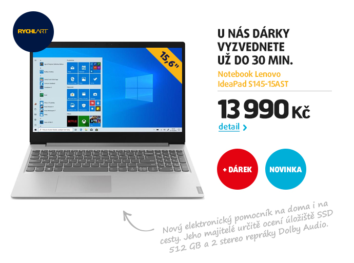 Notebook Lenovo IdeaPad S145-15AST