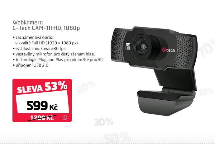 Webkamera C-Tech CAM-11FHD, 1080p