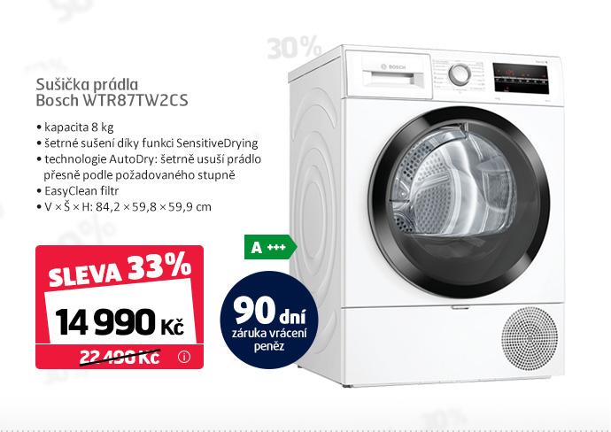 Sušička prádla Bosch WTR87TW2CS