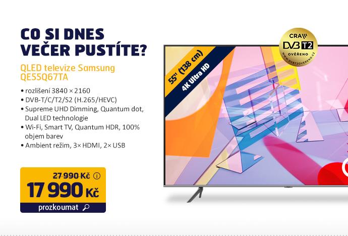 QLED televize Samsung QE55Q67TA