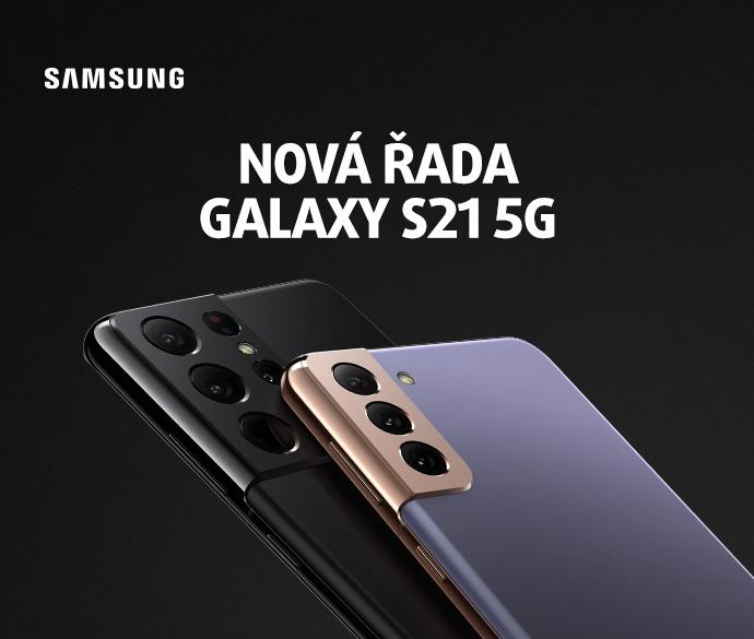 Nová řada SAMSUNG GALAXY S21 5G