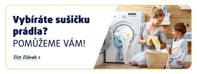 Vybíráte sušičku prádla? Pomůžeme vám! >>číst článek