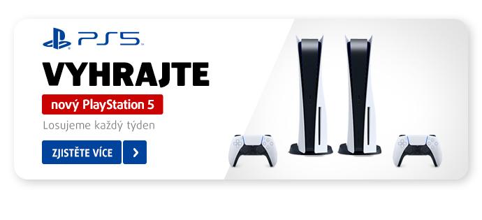 Nový PlayStation 5 ve hře! Nakupte a zapojte se do soutěže