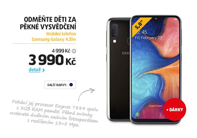 Mobilní telefon Samsung Galaxy A20e
