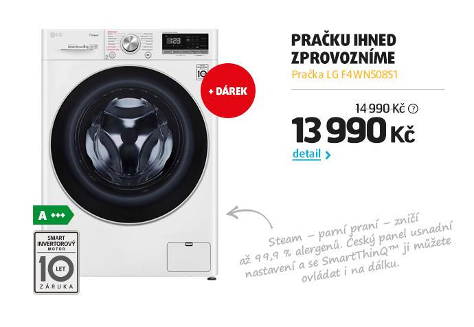Pračka LG F4WN508S1