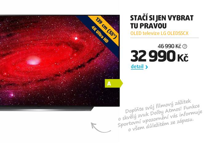 OLED televize LG OLED55CX