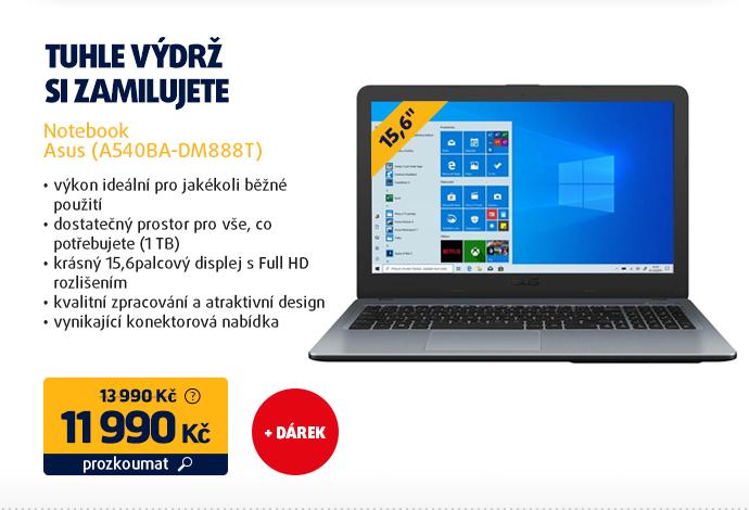 Notebook Asus (A540BA-DM888T)