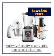 Kuchyňské roboty, mixéry, grily, pomocníci do kuchyně