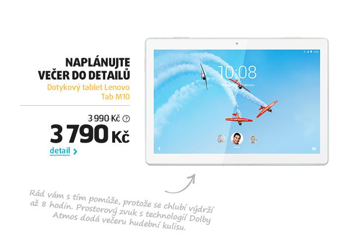 Dotykový tablet Lenovo Tab M10
