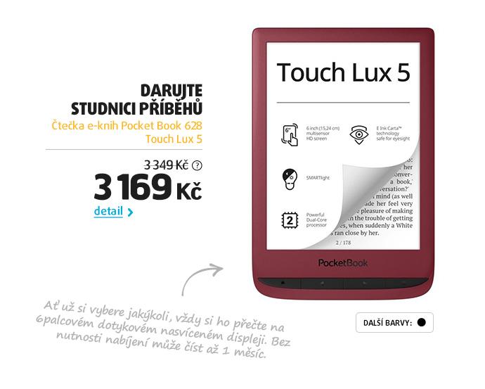 Čtečka e-knih Pocket Book 628 Touch Lux 5