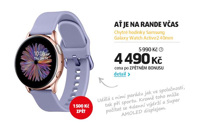 Chytré hodinky Samsung Galaxy Watch Active2 40mm